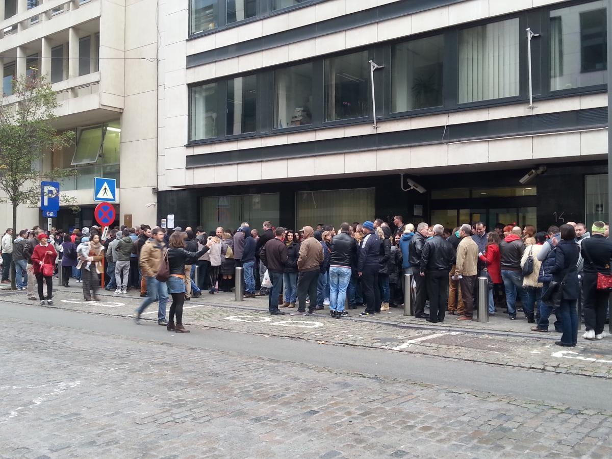 Sectie de vot Bruxelles. Foto: Mihaela Gherghisan