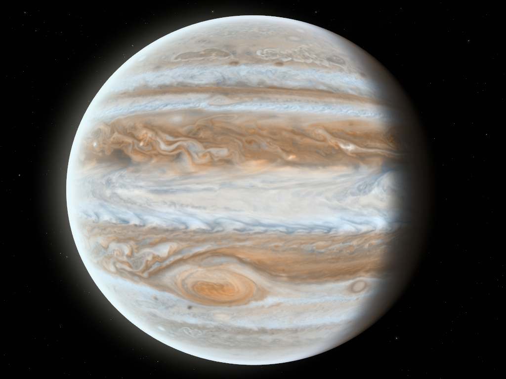 planet jupiter information - HD 1024×768