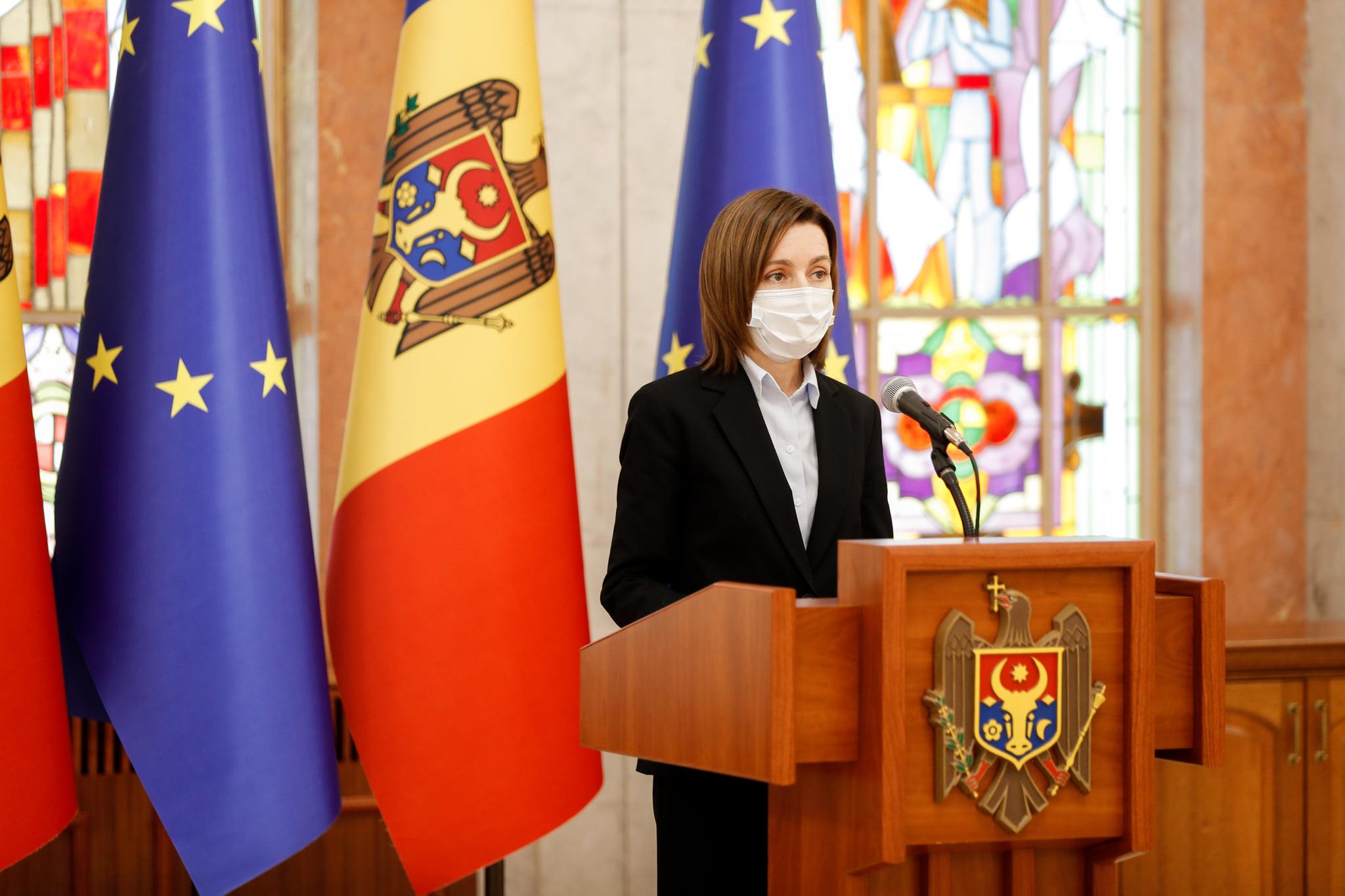 Maia Sandu a sesizat CC pentru constatarea circumstanțelor constituționale de dizolvare a Parlamentului