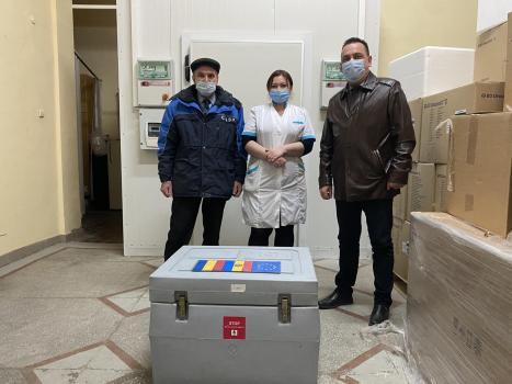Transnistria începe vaccinarea cu dozele AstraZeneca, oferite de România