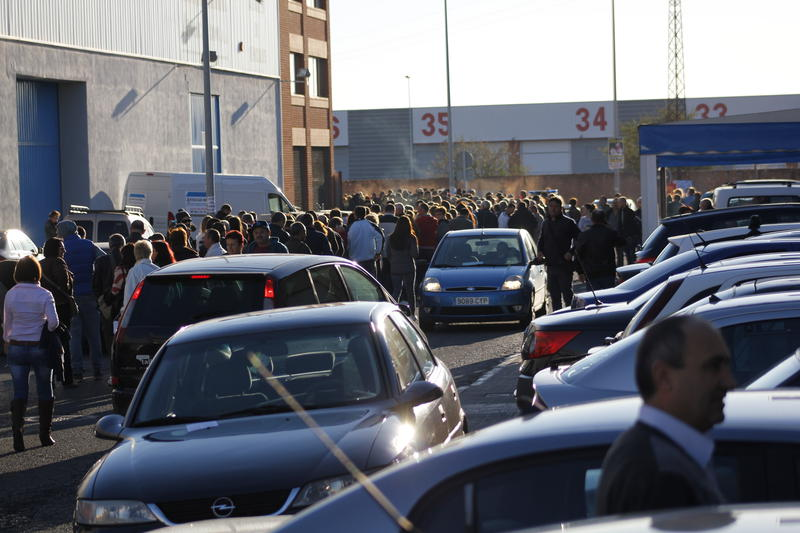 Sectie vot Castellon, Spania. Foto: HotNews.ro