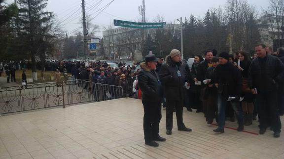 Republica Moldova - sectia de vot Ialoveni