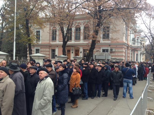 Republica Moldova, sectie de vot Chisinau. Foto: Valeria Vitu