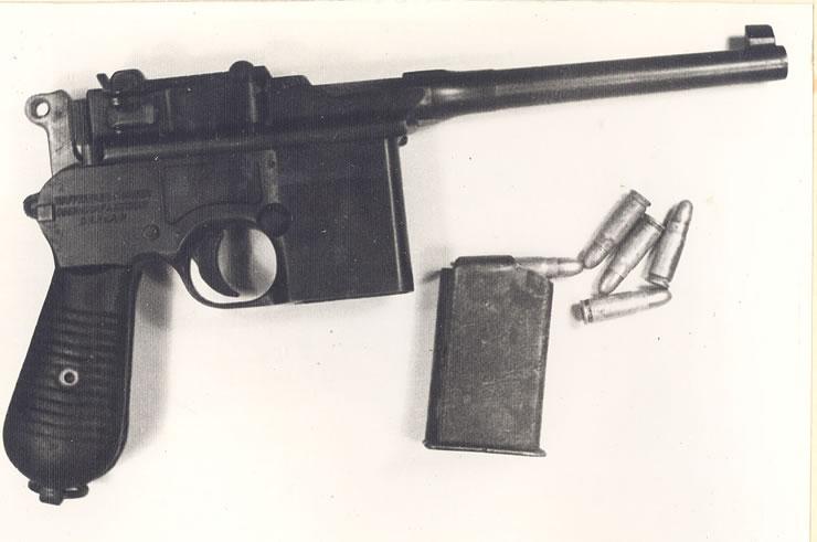Starea generală a armamentului deţinut de organizaţia legionară - galerie foto
