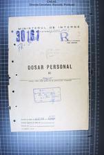 Coperta dosarului ACNSAS  - R 311 942