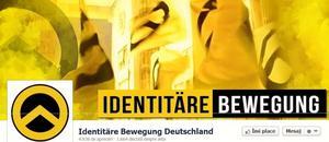 Mişcarea identitară – afiş electronic