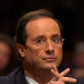 Preşedintele francez, François Hollande