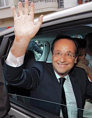 François Hollande, la Avignon