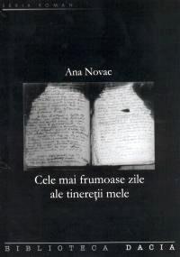 Coperta ediţiei române a jurnalului Anei Novac