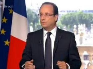 François Hollande . France Télévisions