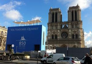 Catedrala Notre-Dame se pregăteşte de Jubileu
