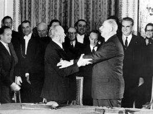 Scurt istoric al relaţiilor franco-germane