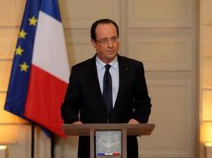 """François Hollande profită de efectul """"Mali"""""""