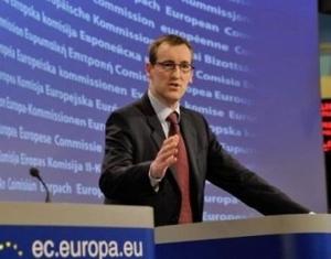 Purtătorul de cuvânt al CE, Mark Gray