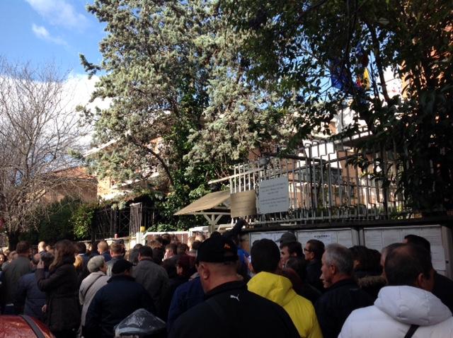 Sectie de vot Roma. Foto: Elena Postelnicu