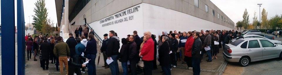 Sectie de vot Madrid. Foto: diasporavoteaza via Facebook