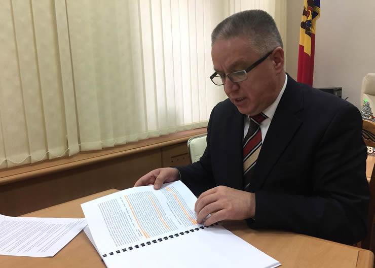 Secretarul general de stat, Boris Gilca