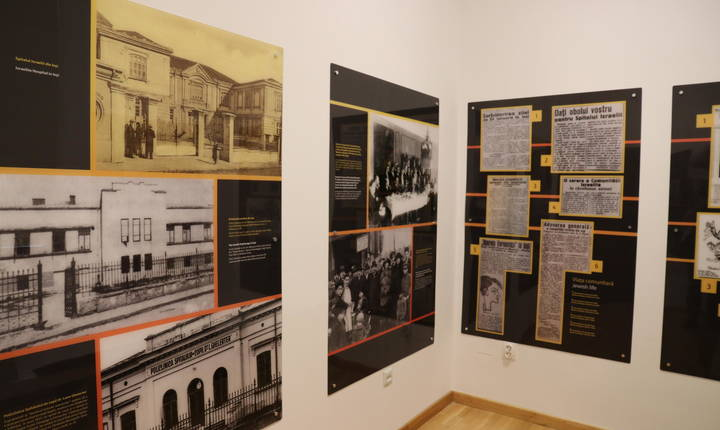Fostul sediu de poliție este acum transformat într-un muzeu despre istoria pogromului din Iași. © Stéphanie Trouillard/France24