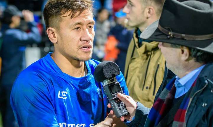 Tim Nanai-Williams - super-vedeta samoanilor - a rămas fără cuvinte la final