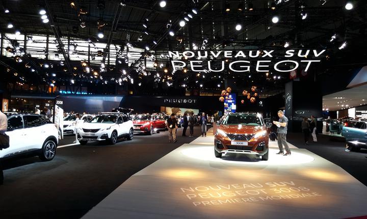 Standul Peugeot la Mondialul auto Paris 2016