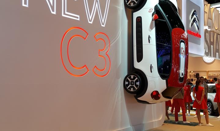 Prezentarea noului Citroën C3