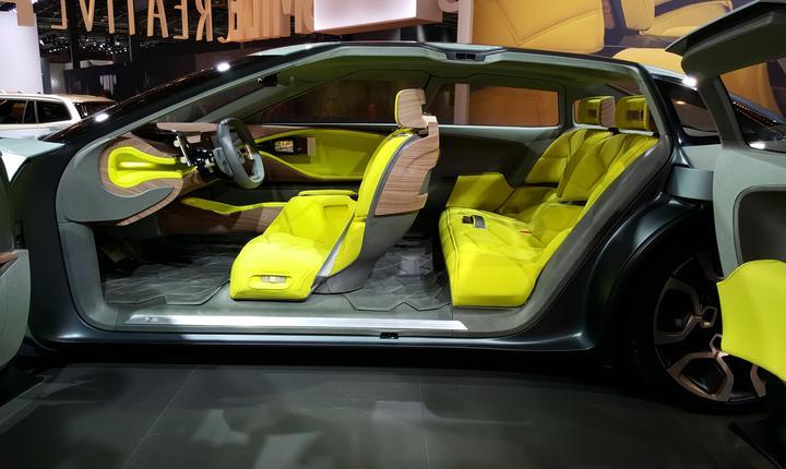 Interiorul prototipului Citroën Cxperience