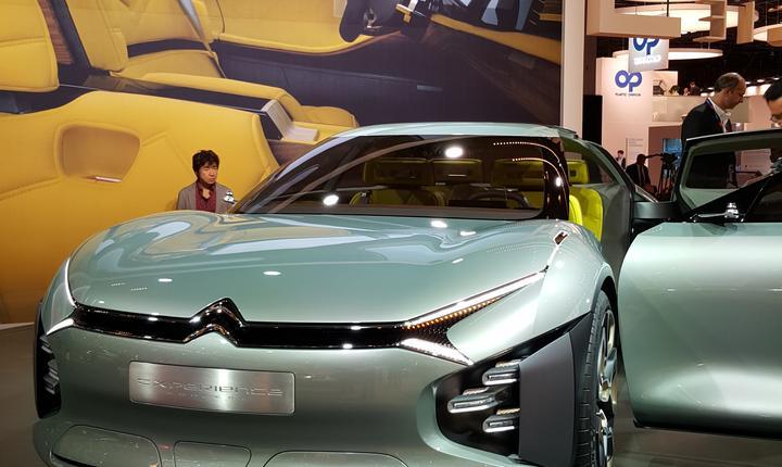 Prototipul Citroën Cxperience