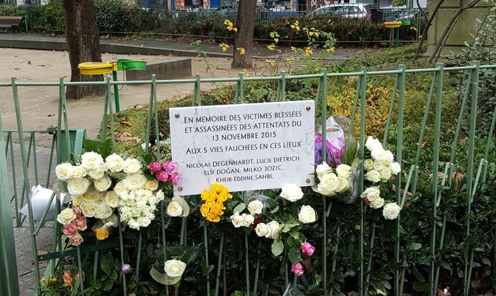 In memoria celor 5 morti de la cafeneaua La Bonne Bière