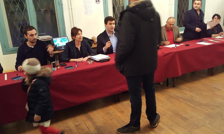 Sectia de votare de la ICR Paris