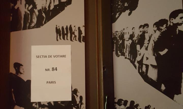 ICR Paris transformat (provizoriu) în sectie de votare