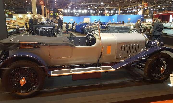 Bentley Vanden Plas Open Tourer, 1929, colectia Lukas Hüni
