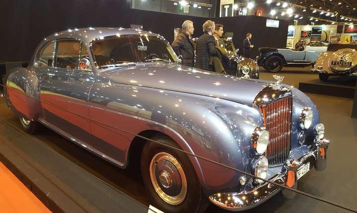 Bentley R-type Continental HJ Mulliner Fastback, 1954, colectia Lukas Hüni