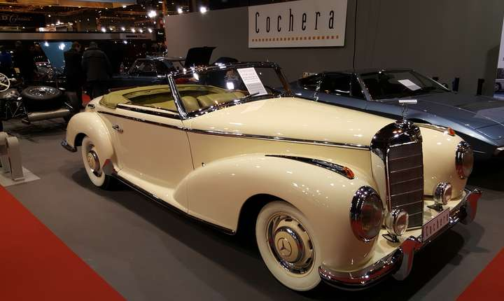 Mercedes-Benz 300S Roadster, 1953