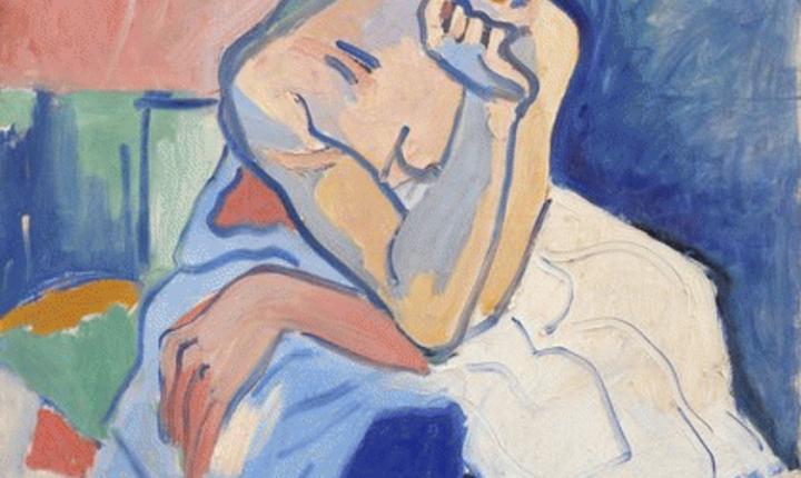 André Derain, La femme en chemise ou Danseuse, Copenhague, Statens Museum for Kunst