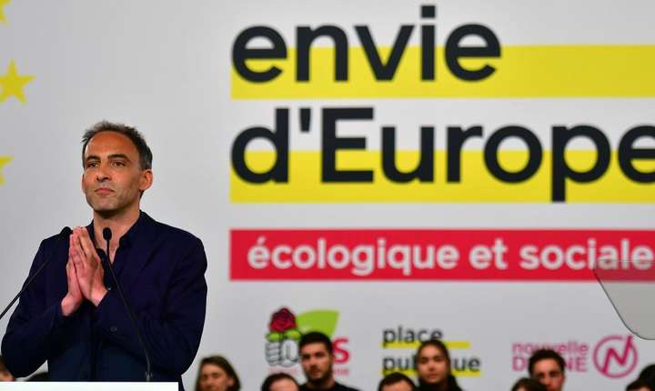 """Raphaël Glucksmann, cap de listă al mişcării """"Envie d'Europe"""" (Dorinţă de Europa)"""