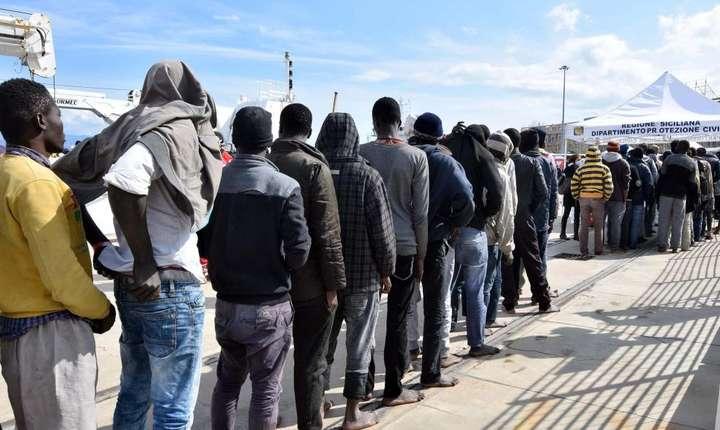 Imigranti în Sicilia