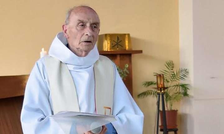 Preotul Jacques Hamel asasinat pe 26 iulie 2016 la Saint-Etienne-du-Rouvray