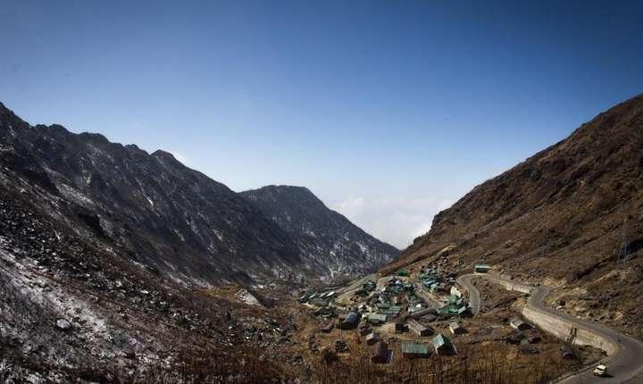 Regiunea Sikkim din India, nu departe de zona litigioasa