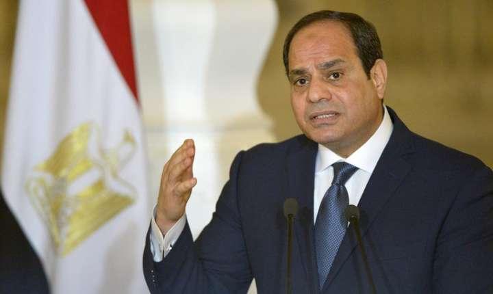 Abdel Fattah al-Sissi, reales presedinte cu aproape 97 la sută din voturi.