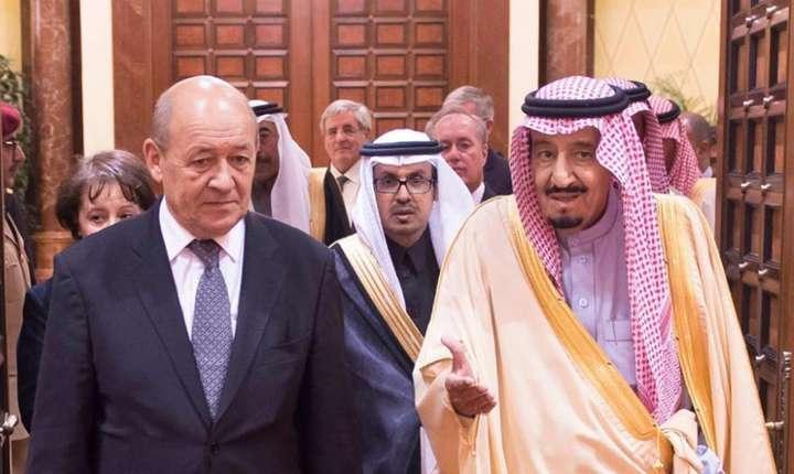 Ministrul de externe Jean-Yves le Drian în Arabia Saudita