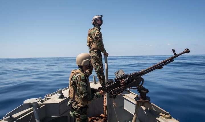 Patrule maritime ale pazei de coastă libiene
