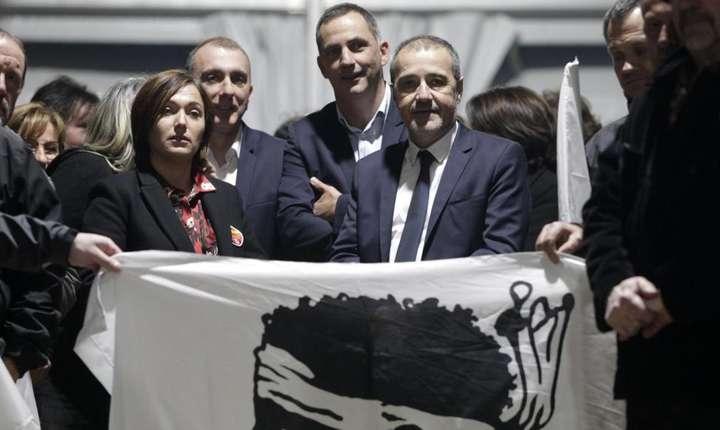 Lista nationalistilor corsicani desemnata cîstigatoare de sondajele care au precedat scrutinul