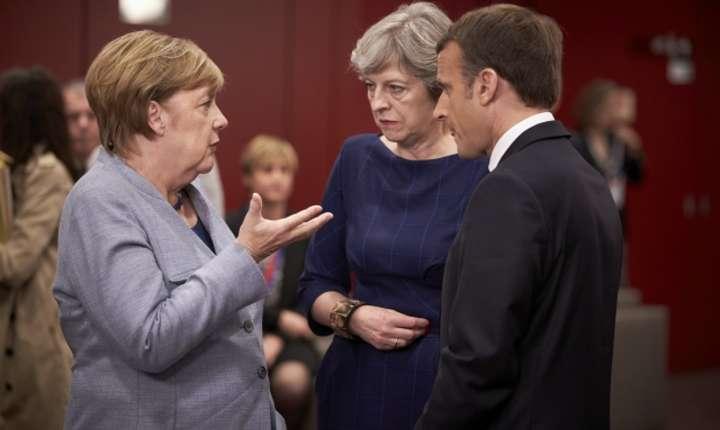 Merkel May Macron oct 2017