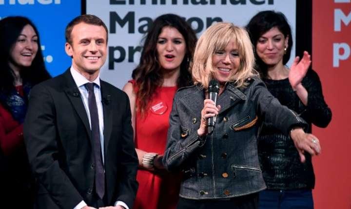 Emmanuel Macron si Brigitte