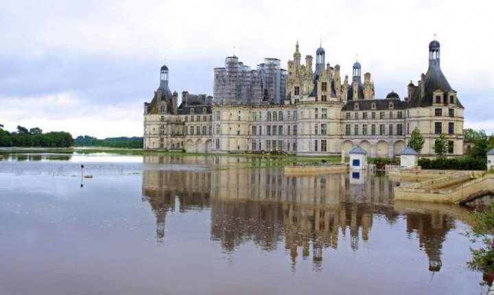 Domeniul Chambord amenintat de inundatii în iunie 2016