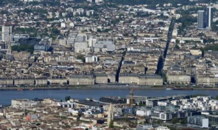 Orasul Bordeaux, vedere aeriana
