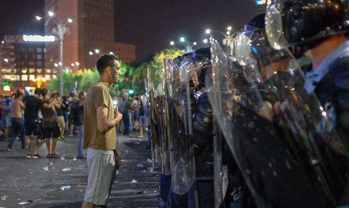 Audiata astazi in Senat in legatura cu protestele din 10 august, ministrul de Interne anunta un proiect de modificare a legii adunărilor publice