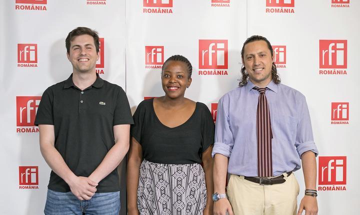 Eduard Beyer, Daisy Fakude și Dan Pavel la Business ON AIR