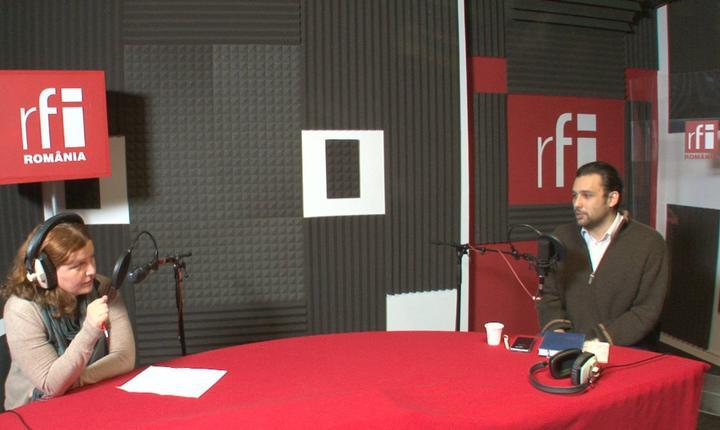 Andreea Orosz și Mihai Dragoş la radio