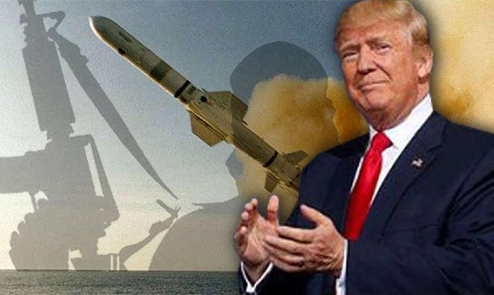 Donald Trump / atac rachete Tomahawk